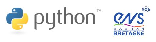 logo Python - ENS Cachan antenne de Bretagne